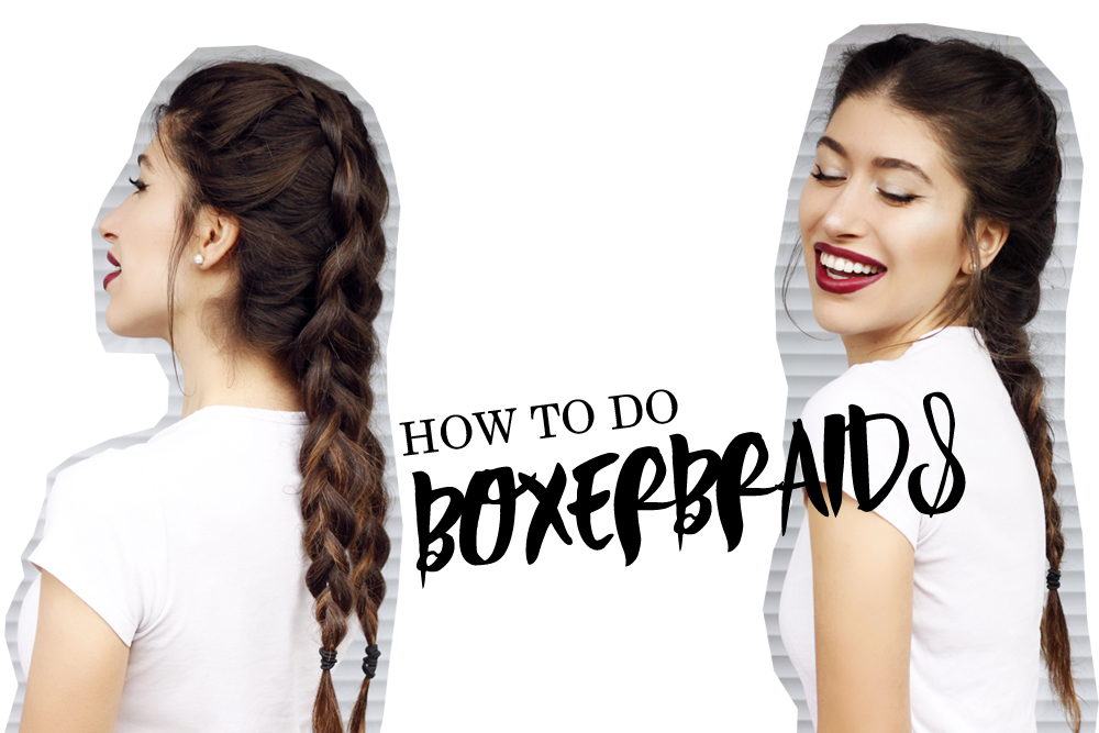 How to do boxerbraids