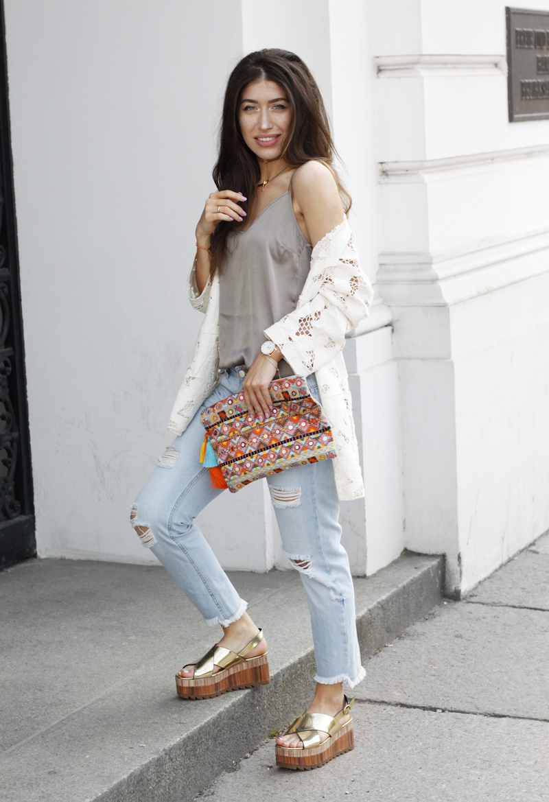 bohemian summer outfit