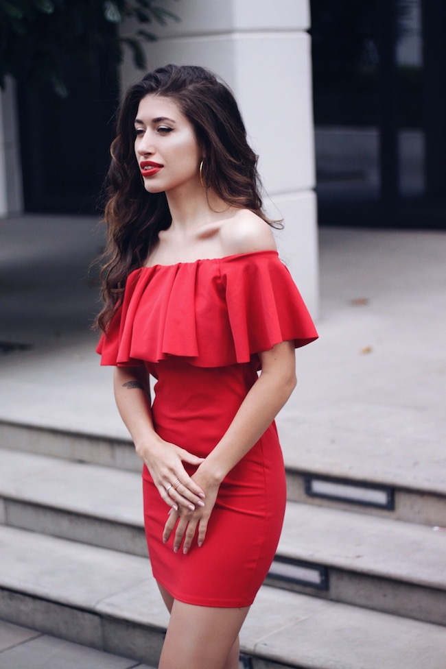 Red-Bardot-Dress-Fashion-Blogger